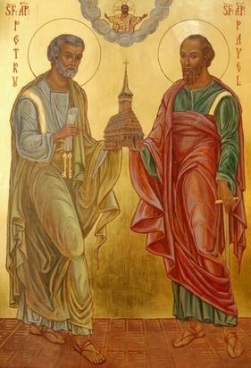 Icoana Sf. Ap. Petru si Pavel